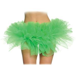 Short Green Tulle Tutu for Women