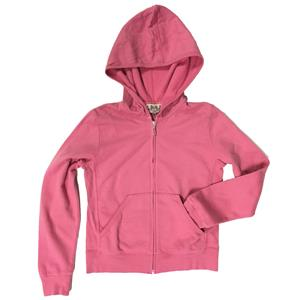10 NWT Authentic Princess Juicy Couture Kids Faithful Pink Fleece Zip Up Hoodie