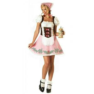 InCharacter Womens Fetching Fraulein Adult Oktoberfest Sexy Costume Size Large