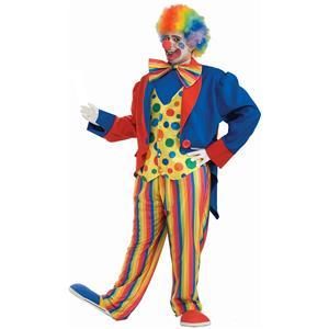 Clown 3X Plus Size Adult Costume