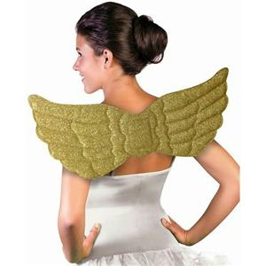 Forum Novelties Golden Sparkle Gold Angel Wings Costume Accessory