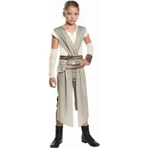 Star Wars VII The Force Awakens Rey Child Costume Size Medium 8-10