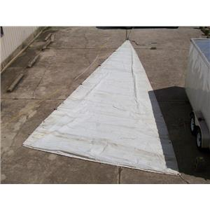 Mainsail w 40-0 luff & external slides at Boaters Resale Shop of Tx 1408 0754.91