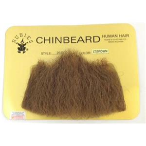 Light Brown Human Hair Goatee Chin Beard Costume Beard 2022