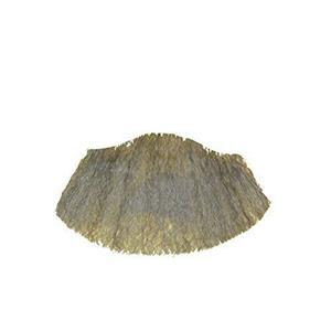 Light Gray Human Hair Goatee Chin Beard Costume Beard 2022