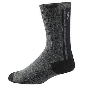Specialized Winter Wool Sock Black / Dark Grey Small