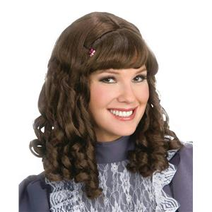 Scarlett Curly Brown Costume Wig