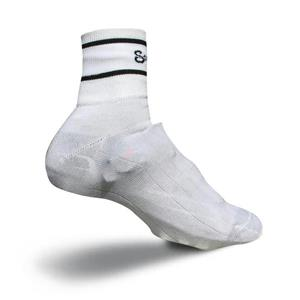 Sockguy Cordura Cycling Shoe Covers S/M White