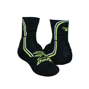 Defeet Slipstream Cycling Shoe Cover Cordura Big D Neon S/M