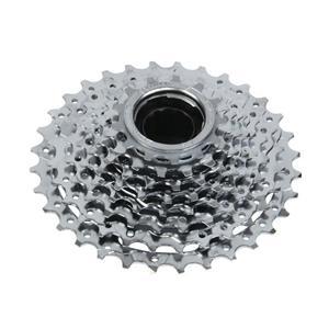 Sunrace 8 Speed Bicycle Freewheel - MFE60 8 Speed 13-32T Chrome