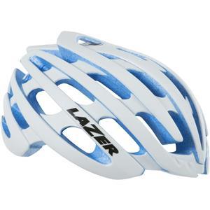 Lazer Z1 Helmet Medium Flash White/Blue