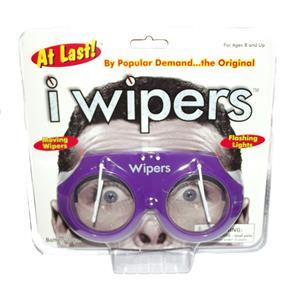 Purple iWipers Windsheild Wiper Flashing Lights Costume Glasses Goggles