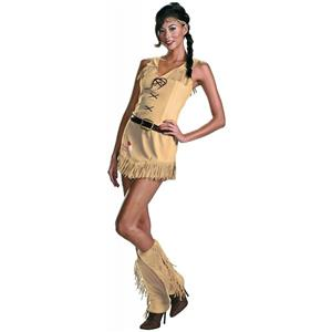 The Lone Ranger Sassy Tonto Sexy Women's Native Indian Adult Costume Large 12-14