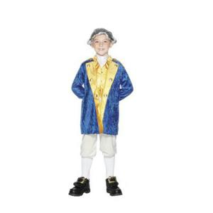 Smiffy's Boy's George Washington Child Costume Size Small Ages 3-5