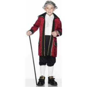 Smiffy's Children's Ben Franklin Child Costume Size Small Ages 3-5
