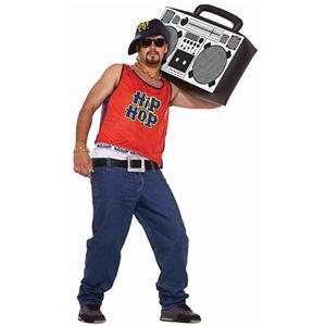Men's 80's Hip Hop Home Boy Old School Rapper Adult Costume