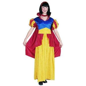 RG Costumes Women's Snow White Adult Velvet Costume Dress with Attached Cape