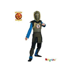 Deluxe Shadow Emperor Ninja Warrior Child Costume Medium 7-8