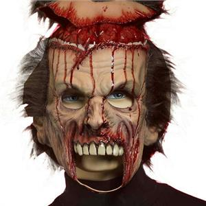 Zombie Flip Your Wig Adult Mask