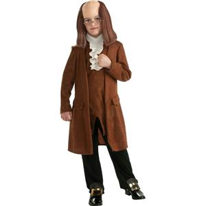 Rubie's Boy's Benjamin Franklin Child Costume Size Small 4-6