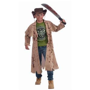 Forum Novelties Zombie Hunter Child Costume Size Large 12-14