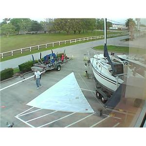 Bartlett Sails HO Jib w Luff 28-11 from Boaters' Resale Shop of TX 1603 1475.91