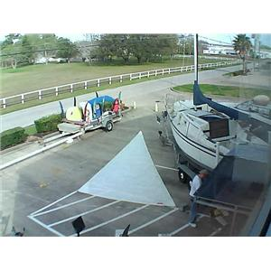 Dacron H OJib w luff 30-6 Foot 12-3 from Boaters' Resale Shop of Tx 1603 0441.92