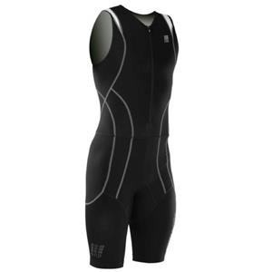 CEP Men's Triathlon Compression Skinsuits BLACK IV / L