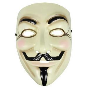 V for Vendetta Plastic Licensed Guy Fawkes Mask