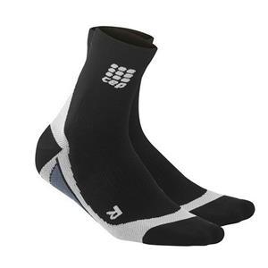 CEP Men's Dynamic  Cycle Short Socks Black 3 (III)