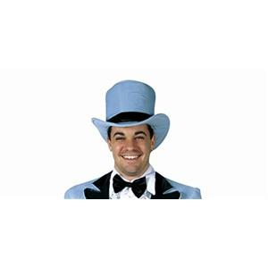 Rasta Imposta Dumb Dim Wit Dumber Blue Tuxedo Costume Top Hat