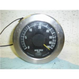 Boaters Resale Shop of Tx 1604 0771.04 TELCOR WIND SPEED DISPLAY GAUGE ONLY