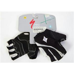 Specialized Women's Pro Cycling Gloves Black/White Small