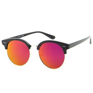 Large Soho Style Sunglasses with Revo Lens Orange Pink Yellow