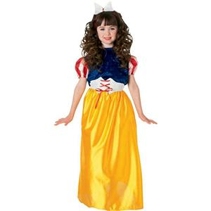 Girls Snow White Child Costume Dress Rubies 881044 Size Small 4-6