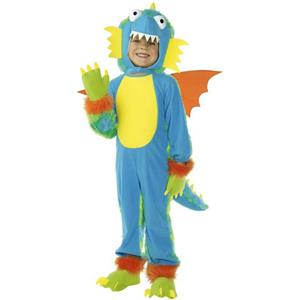 Smiffy's Flying Crump Child Monster Dragon Costume with Wings Size Small 4-6