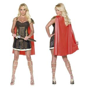 Smiffys Women's Fever Sexy Gladiator Adult Ladies Costume Size Medium 10-12