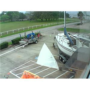 Bierig Sails H O Jib w  luff 31-2  from Boaters' Resale Shop of TX 1108 1032.08
