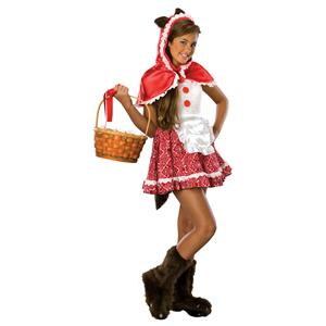 Rubies Drama Queens Little Red Riding Hood Girl Costume Size Teen Small 0-2