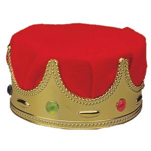 Jacobson Red Turban Child King Crown Costume Hat