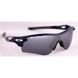 Oakley Radarlock Path Sunglasses Polished Navy W/ Black Iridium + VR28