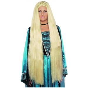 "Deluxe Super Long Blonde Showgirl Wig 38"" Rapunzel Mermaid"