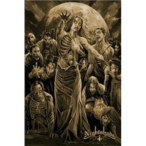 Nightshade Black Series Beautiful Horror The Final Seconds T-Shirt Sz Medium
