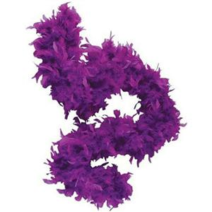 "72"" Purple Feather Boa Great Flapper Costume Accessory"