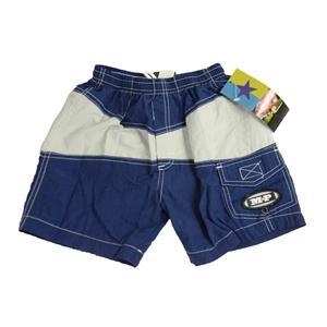 6 NWT MP Metropolitan Prairie LITTLE BRUISER Blue White Swimsuit Trunk Shorts
