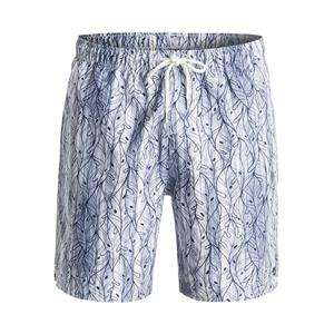 Quiksilver Waterman Men's Ballenas Volley Short Navy/White Large