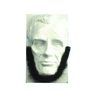 Self Adhesive Black Abraham Lincoln Beard Facial Hair Disguise