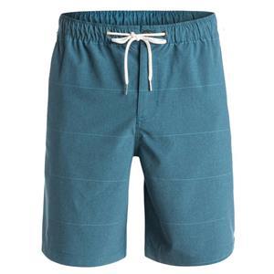 """Quiksilver Men's Belmont 20"""" Amphibian Shorts Blue L"""