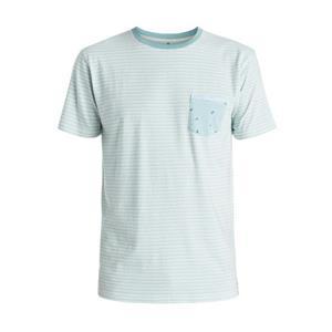 Quiksilver Basque Bay Pocket T-Shirt Blue Medium