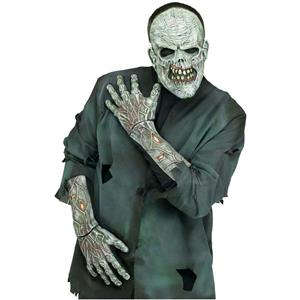 Fun World Zombie 3D Gloves with Arms Costume Accessory Adult Gloves